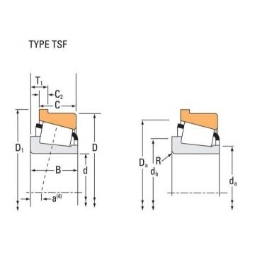 Tapered Roller Bearings 74850-B