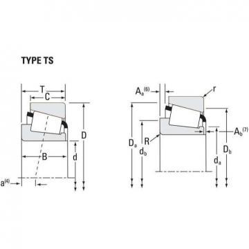Tapered Roller Bearings JL26749F - JL26710
